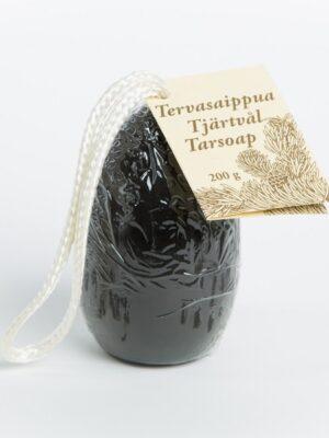 Tjärtvål handtillverkad i Finland