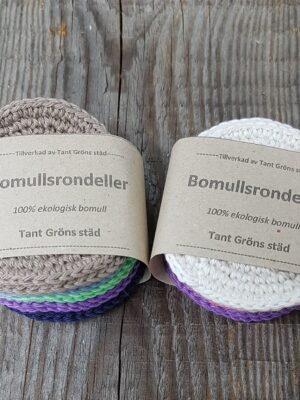 Åländskt hantverk, bomullsrondell ekologisk bomull